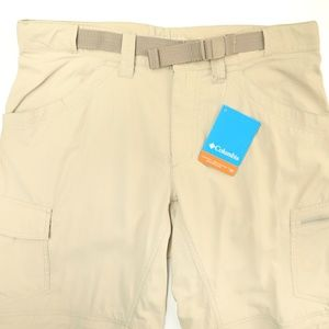 Columbia Omni-Shade Beige Convertible Hiking Pants